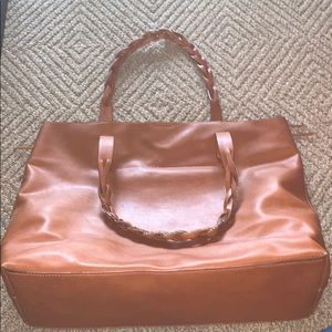 SOLE SOCIETY TOTE TAN - loved